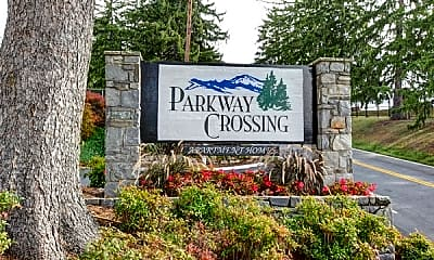 Community Signage, Parkway Crossing, 1