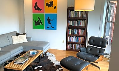Living Room, 25 Follen St, 1