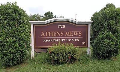 Athens Mews, 1