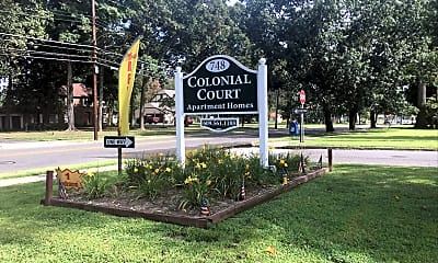 Colonial Court Apartments, 1