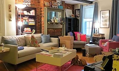 Living Room, 33 Winchester St, 1