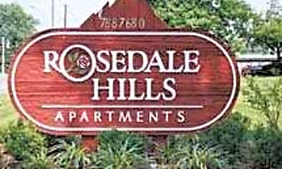 Community Signage, Rosedale Hills Apartments, 0