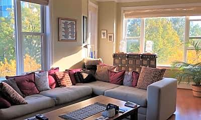 Living Room, 2600 Pennsylvania Avenue NW 5B/502, 1
