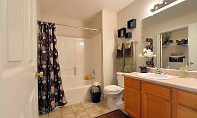 Bathroom, Portside Apartments, 2