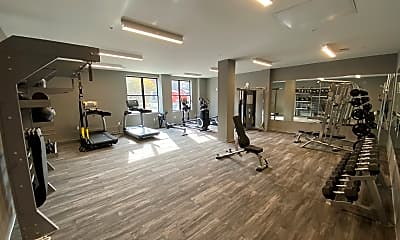 Fitness Weight Room, Hibernia, 1