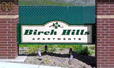 Community Signage, Birch Hills Apartments, 1