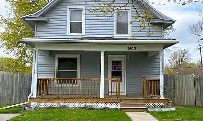 Building, 1403 N 21st St, 2