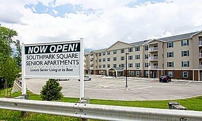 Community Signage, Southpark Square Senior Apartments, 2