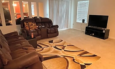 Living Room, 6889 Lake Mist Ln, 2