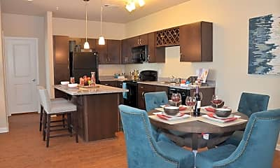 Kitchen, Springs at Weber Road Apartments, 2