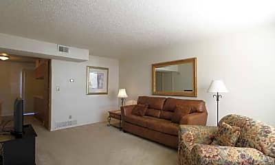 Living Room, Lakeview Townhomes & Villas, 1