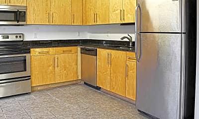 Kitchen, Green Street Apartments, 1