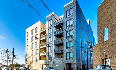 Building, 650 N Morgan St #205, 1