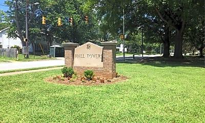 Hall Towers, 1