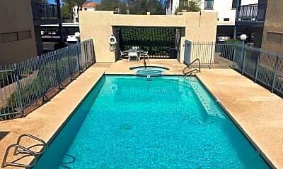 Pool, Monterey Apartments, 1