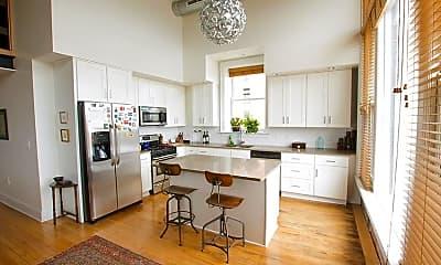 Kitchen, JR Barrington Building, 0