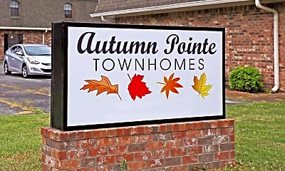 Community Signage, Autumn Pointe Townhomes, 2