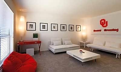 Living Room, Radius Apartments, 0