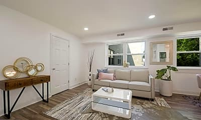 Living Room, 4810 Quarles St NE #304, 1