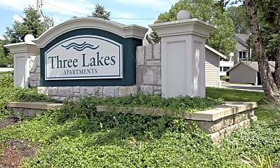 Community Signage, Three Lakes, 2