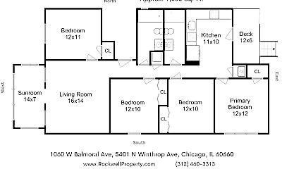 Living Room, 5401 N Winthrop Ave, 1