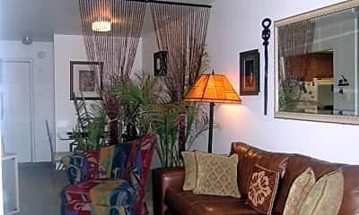 Living Room, Dartmouth Square Apartments, 2