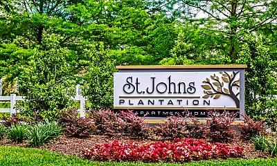 Community Signage, Villas at St. Johns, 2