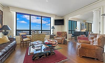 Living Room, 180 E Pearson St 4901, 1