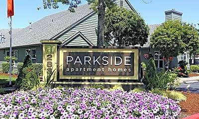 Community Signage, Parkside Apartments, 2
