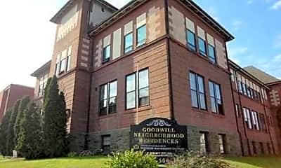 Building, Goodwill Neighborhood Residences, 1