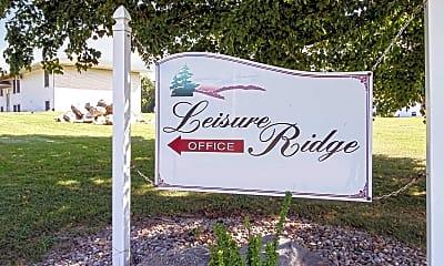 Community Signage, Leisure Ridge Apartments, 2