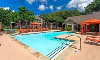 Pool, The Residence at North Dallas Apartments, 0