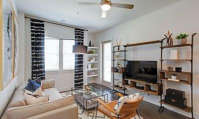 Living Room, Cortland Lincoln Station, 1