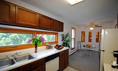 Kitchen, Metropolitan Towers, 0