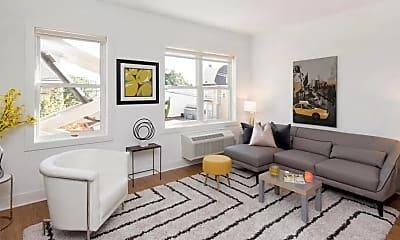 Living Room, 429 Bergen Ave 418, 0