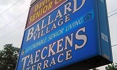 Ballard Village, 1