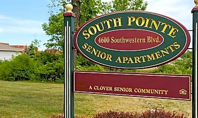 Community Signage, South Pointe Senior Apartments, 1