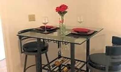 Dining Room, Meadowbrook at Kings Grant, 1