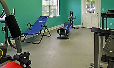 Fitness Weight Room, The Richmond, 2