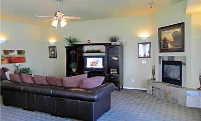 Living Room, Falls Creek Apartments, 1