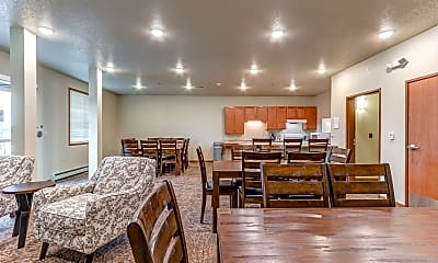 Clubhouse, Homefield Senior Living Apartments, 1