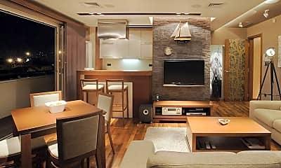 Living Room, Bel-Aire, 1