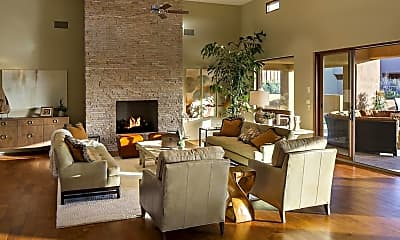 Living Room, 9894 E Miramonte Dr, 0