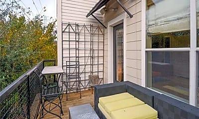 Patio / Deck, 4327 Buena Vista St 4, 2