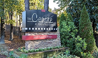 Community Signage, The Centre at Peachtree Corners, 2