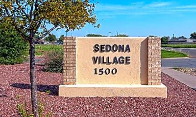 Community Signage, Sedona Village, 1