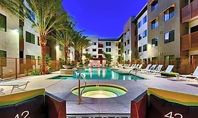Pool, Cactus 42 Apartments, 1
