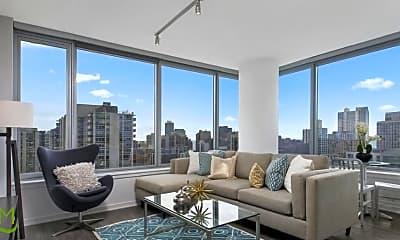 Living Room, 1201 N LaSalle St, 1
