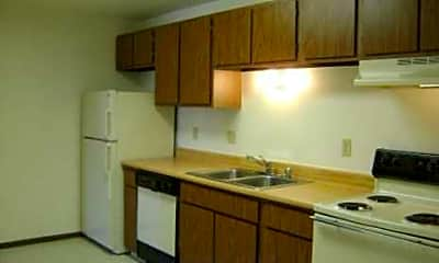 Kitchen, Timmers Lane Apartments, 1