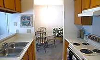 Kitchen, Riverbend Apartments, 1